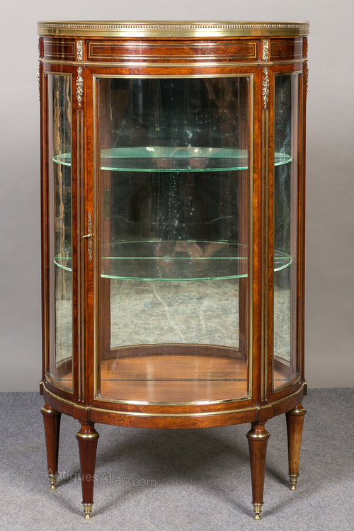 Small French Vitrine Display Cabinet Antiques Atlas