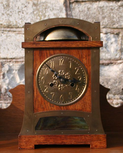 Antiques Atlas Arts And Crafts Liberty Style Mantel Clock