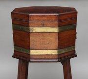 Brass Bound Wine Cooler Antiques Atlas
