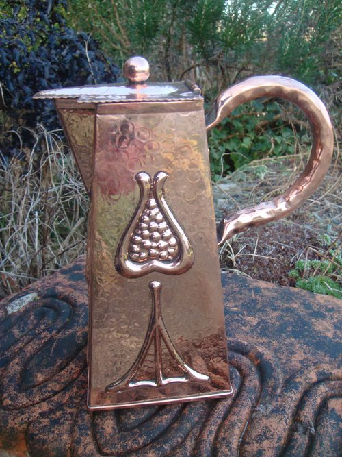 Arts And Crafts Copper Jug