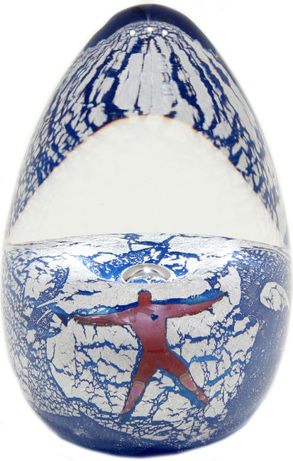 Flying Man Paperweight