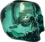 Still Life Skull Votive Green
