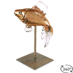Fish Sculpture Gold