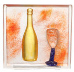 Art Wall A Glass Champagne