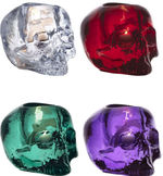 Still Life Skull Set Of 4