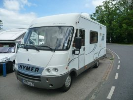 Hymer 544 Classic Motor Caravan Motorhome