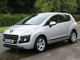 Peugeot 3008 1.6 HDi 112 Sport  Sports Utility Vehicle