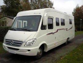 Le-Voyageur LVX9 Mercedes 519CDiMotor Caravan