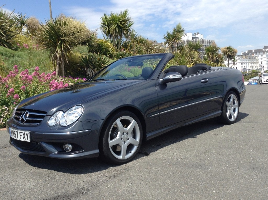 Used Mercedes-Benz CLK East Sussex