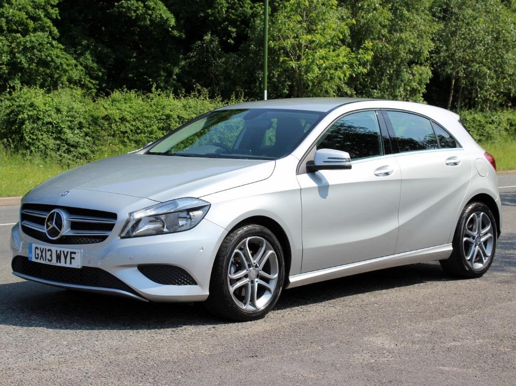 2013 Mercedes-Benz A Class A180 1.6 BlueEFFICIENCY Sport 5 Door Automatic