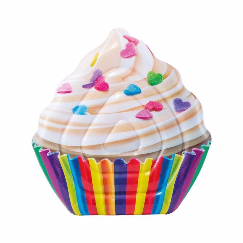 Надувной плотик Intex 58770 Кекс (142x135 см) Cupcake Mat