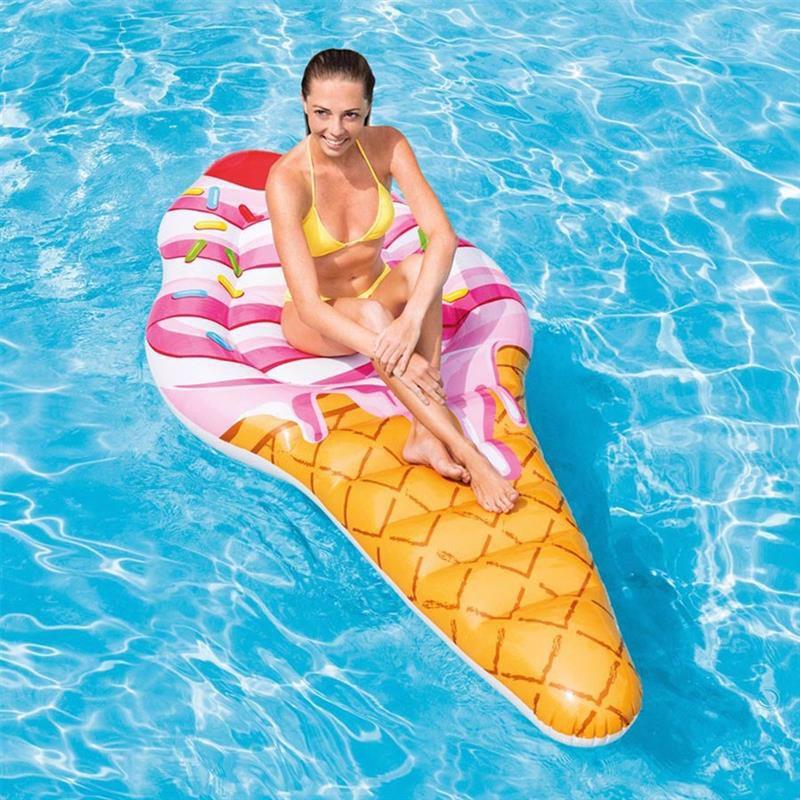 Надувной плотик Intex 58762 Мороженое (224x107 см) Ice Cream Mat