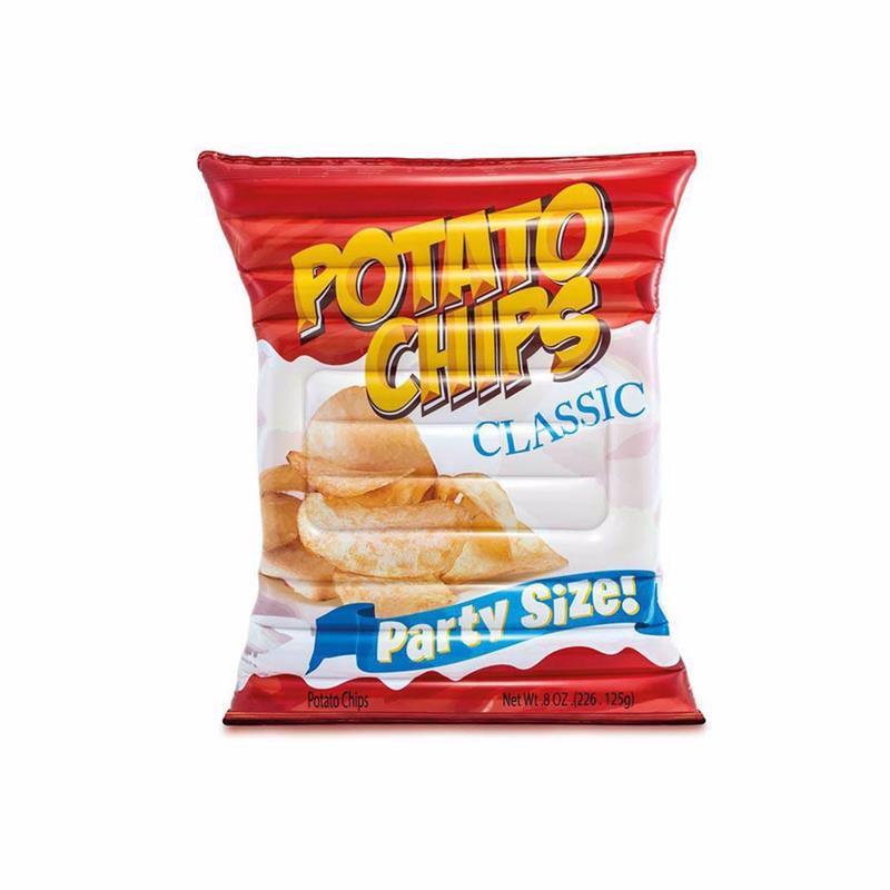 Надувной плотик Intex 58776 Картофельные чипсы (178x140 см) Potato Chips Float