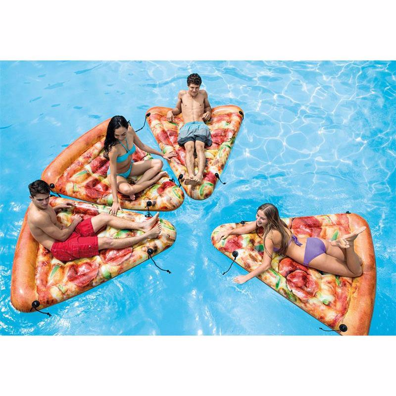 Надувной плотик Intex 58752 Пицца (175x145 см) Pizza Slice Mat