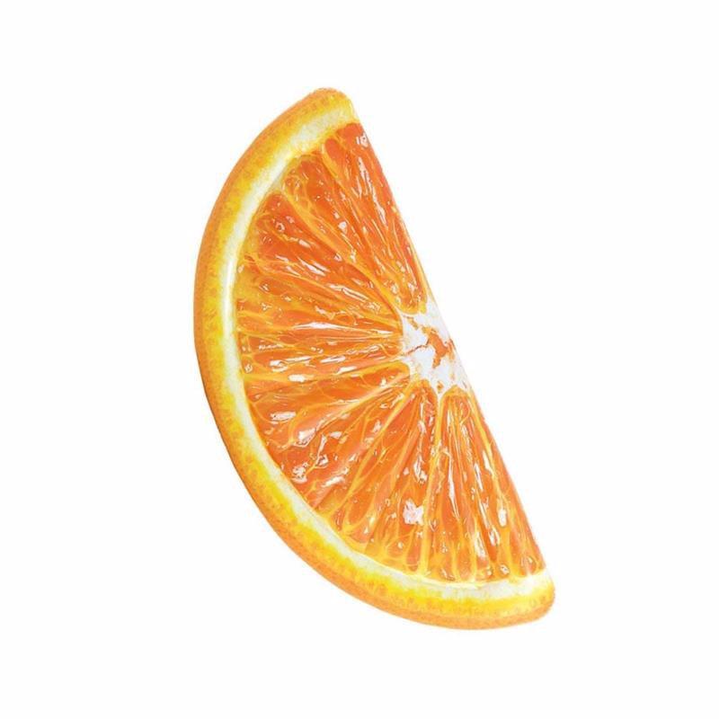Надувной плотик Intex 58763 Апельсин (178x85 см) Orange Slice Mat