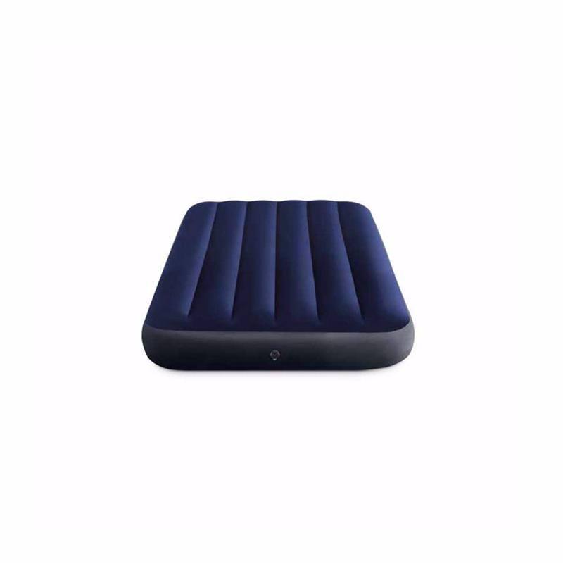 Односпальный надувной матрас Intex 64757 (99 x 191 x 25 см) Classic Downy Airbed
