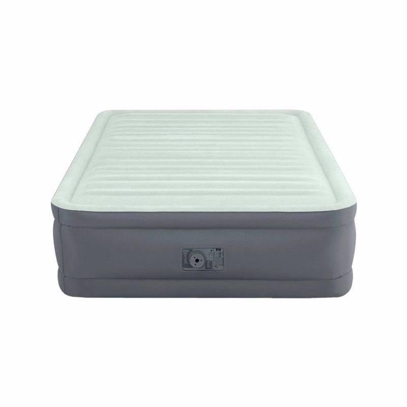 Полутороспальная надувная кровать Intex 64904 (137 x 191 x 46 см) PremAire I + Встроенный электронасос 220В