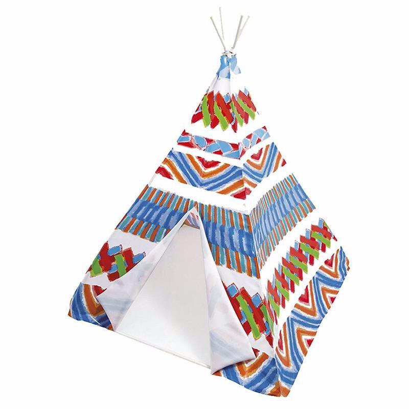 Детская игровая палатка-вигвам Intex 48629 (122 x 122 x 157 см)
