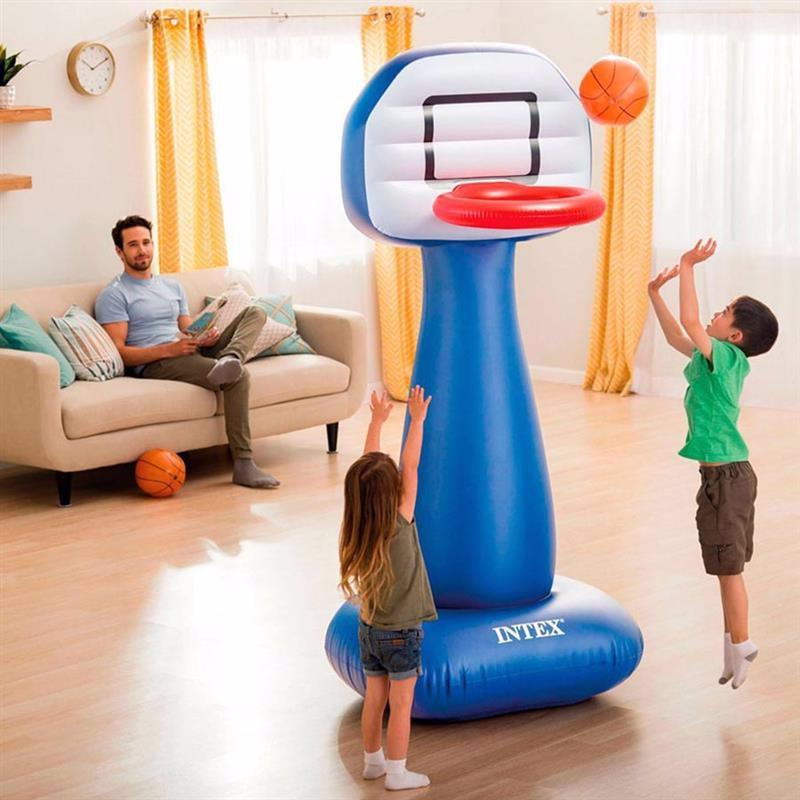 Надувное баскетбольное кольцо Intex 57502 (104 x 97 x 208 см)