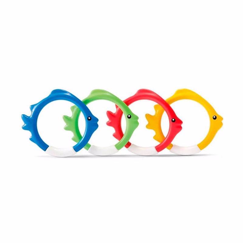 Набор для подводной игры Intex 55507 Рыбки (4 шт) Underwater Fish Rings