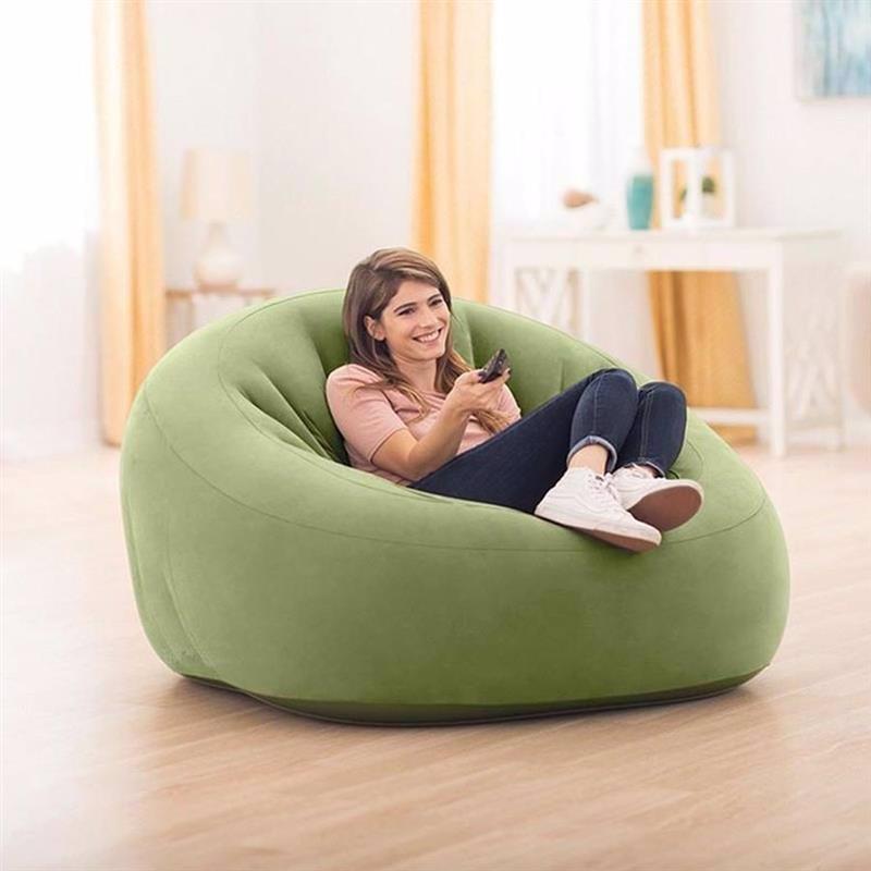 Надувное кресло Intex 68576 (124 x 119 x 76 см) Beanless Bag Club