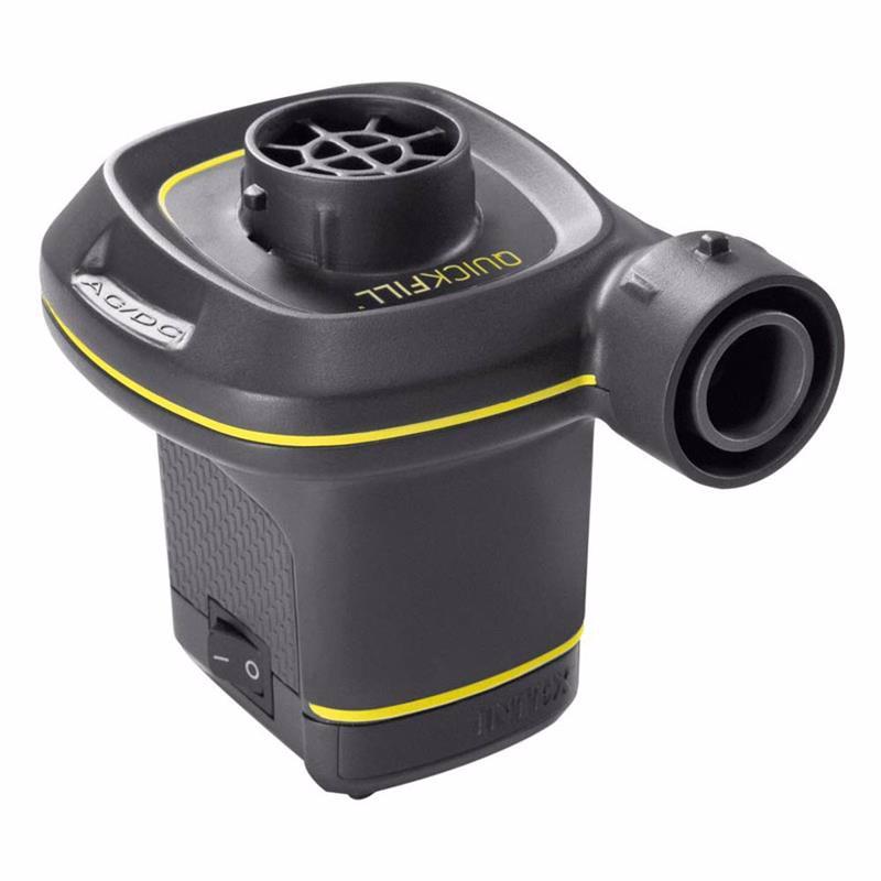Электронасос Intex 66634 220В/12В Quick-Fill AC/DC Electric Pump (480 л/мин)