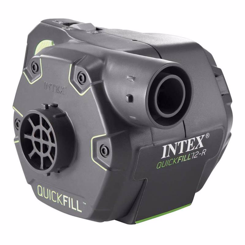 Электронасос Intex 66642 220В/12В/АКБ Quick-Fill Rechargeable Pump (650 л/мин)