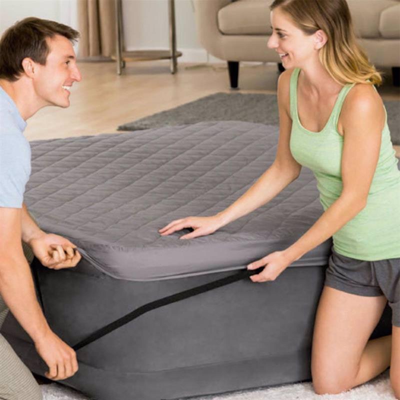 Наматрасник Intex 69643 (152 x 203 x 10 см) Airbed Cover (Для надувных кроватей, высотой до 56 см)