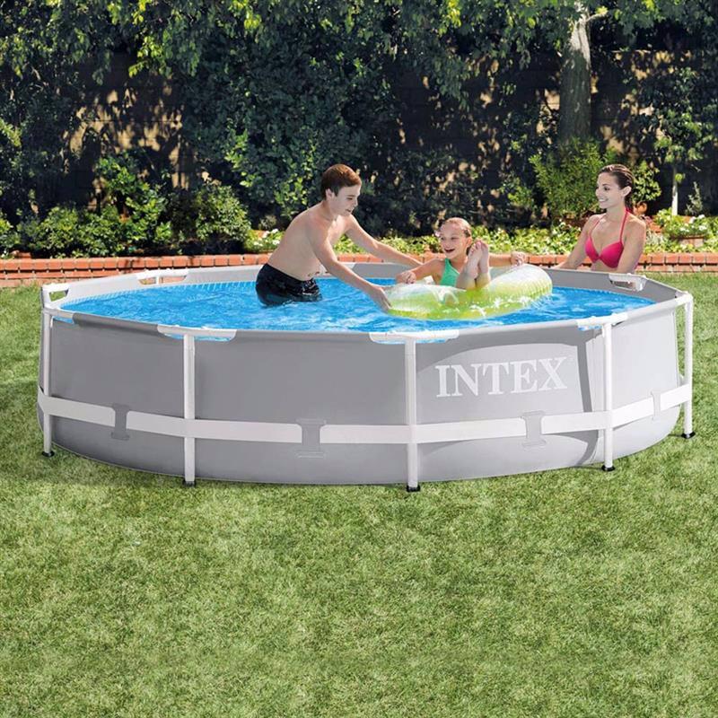Круглый каркасный бассейн Intex 26700 (305 x 76 см) Prism Frame Pool