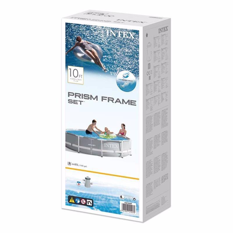 Круглый каркасный бассейн Intex 26702 (305 x 76 см) Prism Frame Pool
