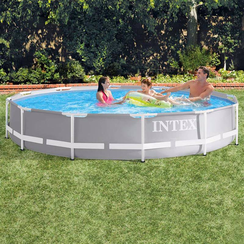Круглый каркасный бассейн Intex 26710 (366 x 76 см) Prism Frame Pool