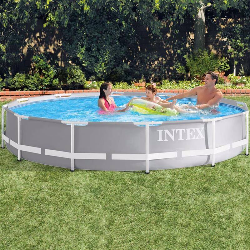 Круглый каркасный бассейн Intex 26712 (366 x 76 см) Prism Frame Pool