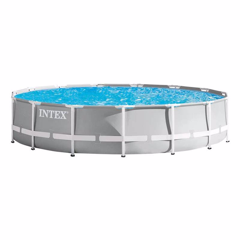 Круглый каркасный бассейн Intex 26724 (457 x 107 см) Prism Frame Pool