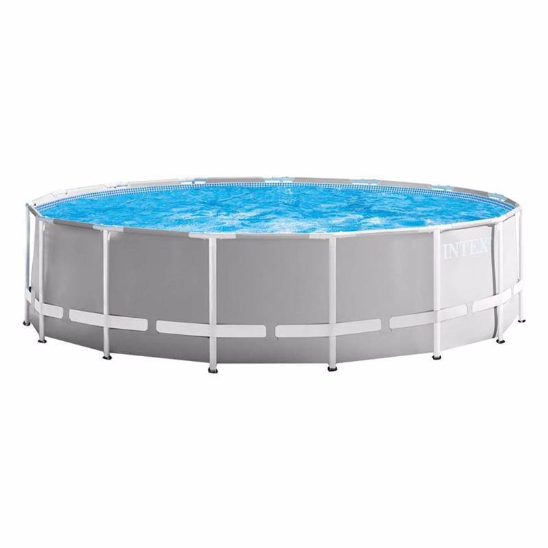 Круглый каркасный бассейн Intex 26726 (457 x 122 см) Prism Frame Pool