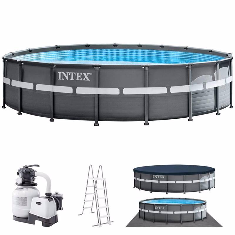 Круглый каркасный бассейн Intex 26330 (549 x 132 см) Ultra XTR Frame Pool