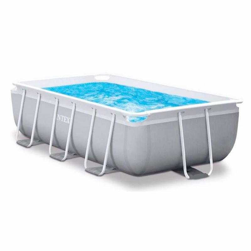 Прямоугольный каркасный бассейн Intex 26792 (488 x 244 x 107 см) Prism Frame Pool