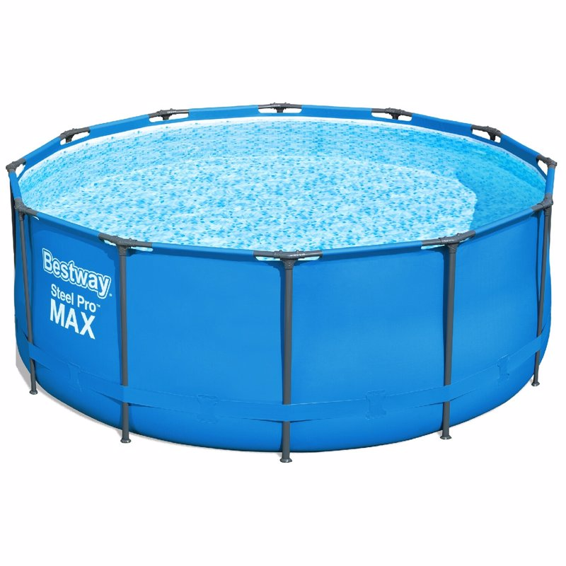 Круглый каркасный бассейн Bestway 15427 (366 x 133 см) Steel Pro Max Frame Pool