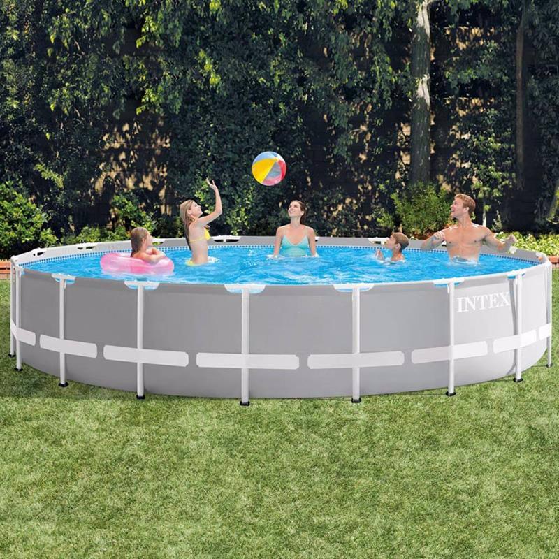 Круглый каркасный бассейн Intex 26732 (549 x 122 см) Prism Frame Pool