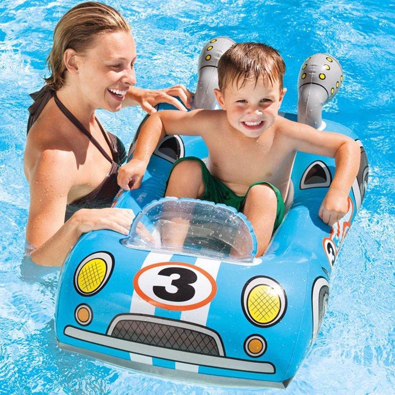 Детский надувной плотик Intex 59380 Машинка (107x69 см) Pool Cruisers
