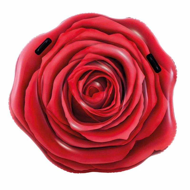 Надувной плотик Intex 58783 Красная роза (137 x 132 см) Red Rose Mat