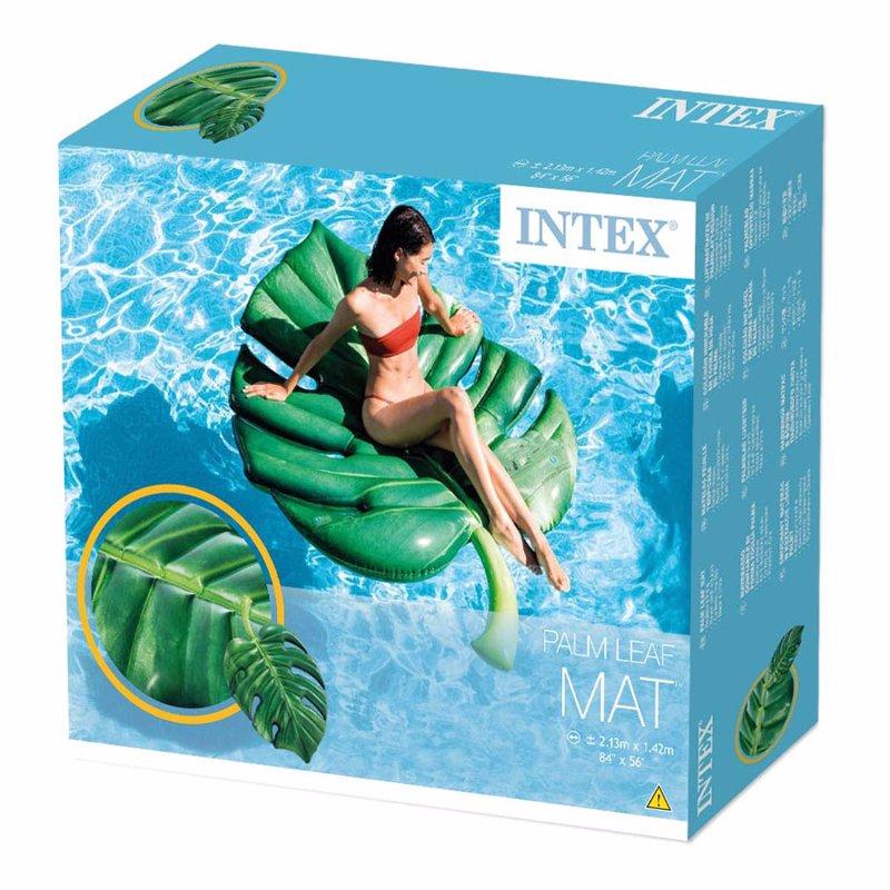 Надувной плотик Intex 58782 Пальмовый лист (213 x 142 см) Palm Leaf Mat