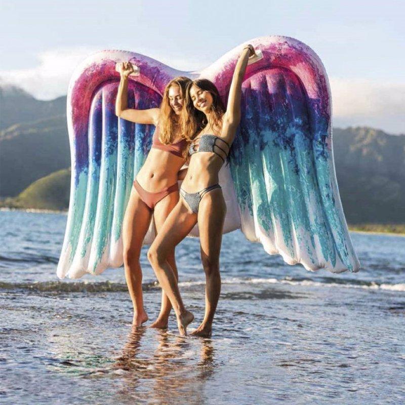 Надувной плотик Intex 58786 Ангельские крылья (251 x 160 см) Angel Wings Mat