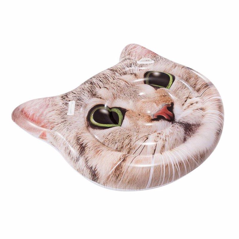 Надувной плотик Intex 58784 Кот (147 x 135 см) Cat Face Island