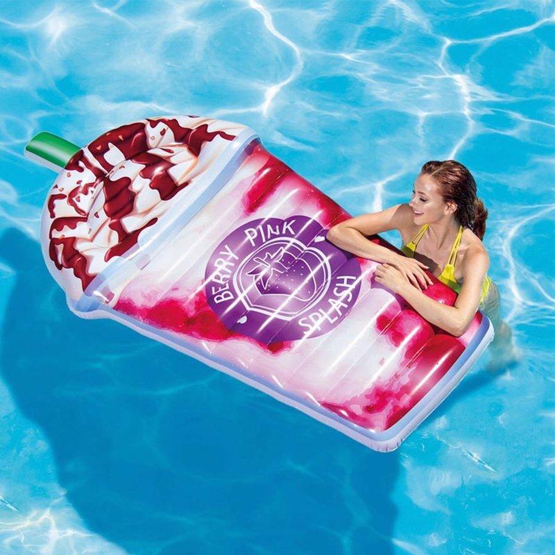 Надувной плотик Intex 58777 Ягодный коктейль (198 x 107 см) Berry Pink Splash Float