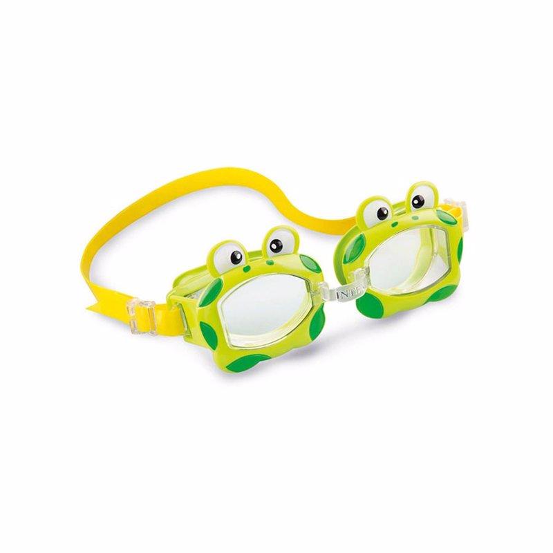 Детские очки для плавания Intex 55603 Fun Goggles (Салатовый)