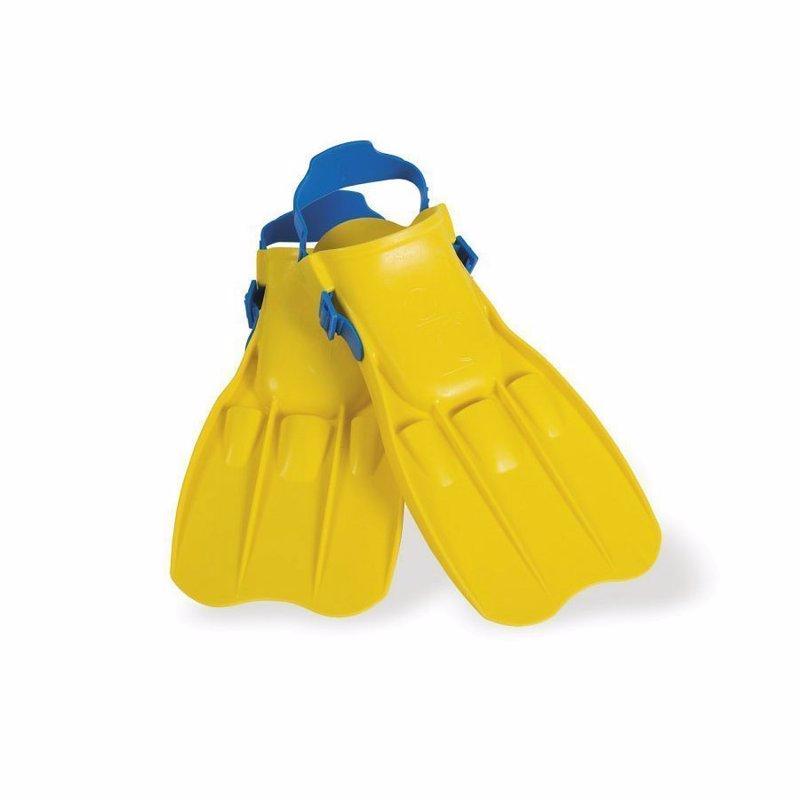 Детские ласты для плавания Intex 55930 (Желтый) Small Swim Fins (р-р 35-37)