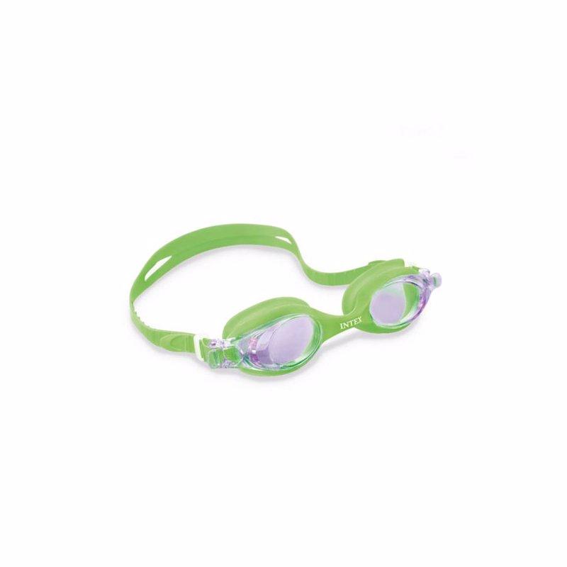 Очки для плавания Intex 55693 (Салатовый) Pro Team Goggles