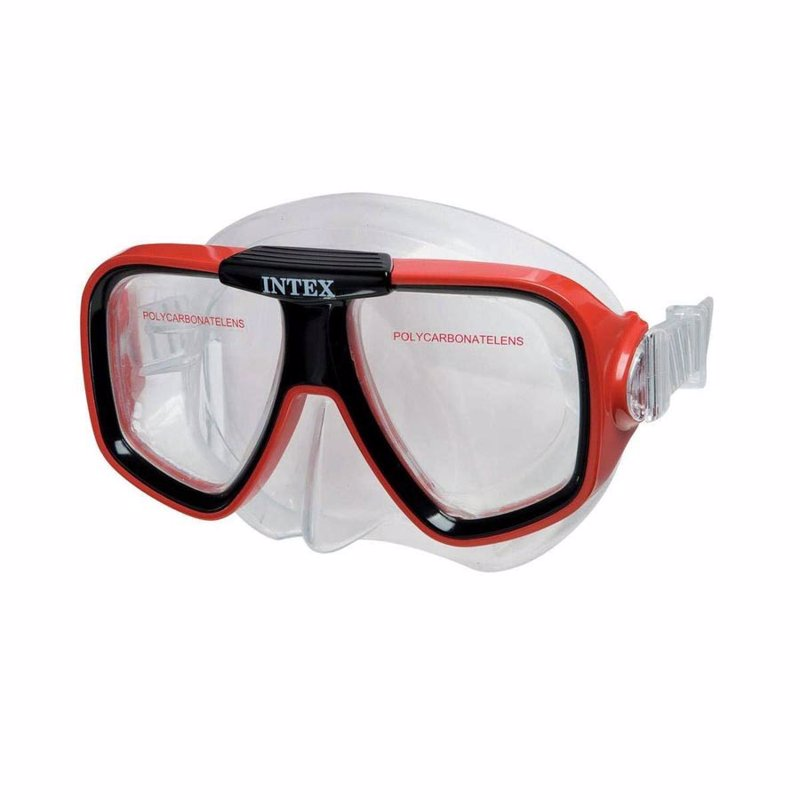 Маска для плавания Intex 55974 (Красный) Reef Rider Masks