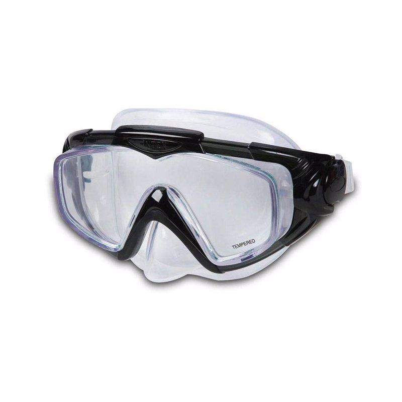 Маска для плавания Intex 55981 (Черный) Silicone Aqua Pro Masks