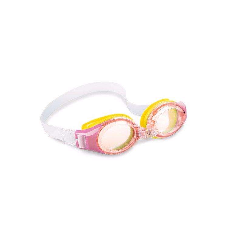 Детские очки для плавания Intex 55601 (Розовый) Junior Goggles